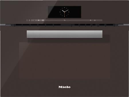 MIELE H 6800 BM hnědá- kompaktní pečicí trouba vestavná s mikrovlnou; 22680004D