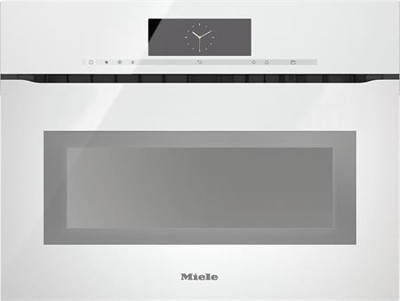 MIELE H 6800 BMX bílá- kompaktní pečicí trouba vestavná s mikrovlnou; 22680064D