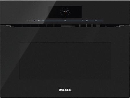 MIELE H 6800 BMX černá- kompaktní pečicí trouba vestavná s mikrovlnou; 22680065D