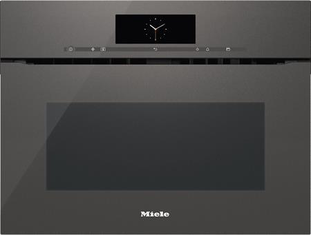 MIELE H 6800 BMX šedá- kompaktní pečicí trouba vestavná s mikrovlnou; 22680067D