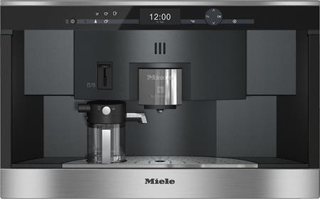 MIELE CVA 6431 nerez/clst vestavný kávovar; 29643150A