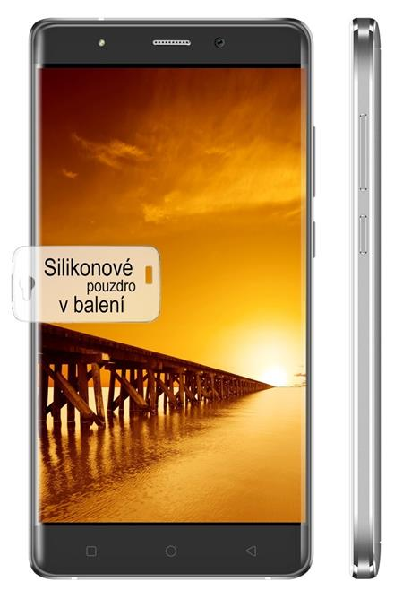 "iGET Blackview A8 GR - 5"" 1280 x 720, Dual SIM, 1GB RAM + 8GB, Android 5.1, šedý; Blackview A8 Gr"