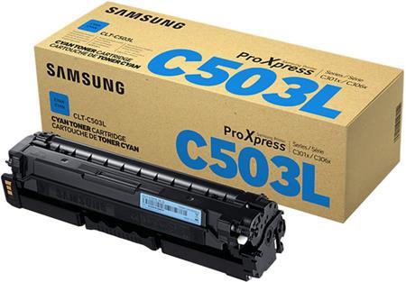 Samsung CLT-C503L/ELS - Cyan Toner Cartridge; CLT-C503L/ELS