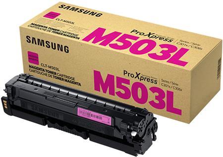 Samsung CLT-M503L/ELS - Magenta Toner Cartridge; CLT-M503L/ELS