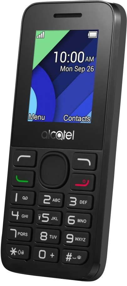 ALCATEL ONETOUCH 1054D Charcoal Black; 1054D-3AALCZ1