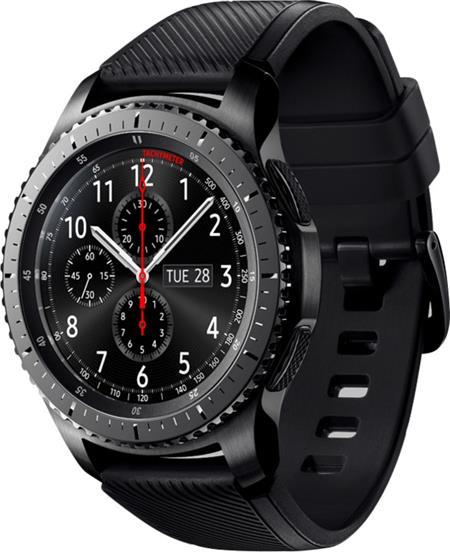 Samsung Gear S3 frontier - hodinky, černá; SM-R760NDAAXEZ