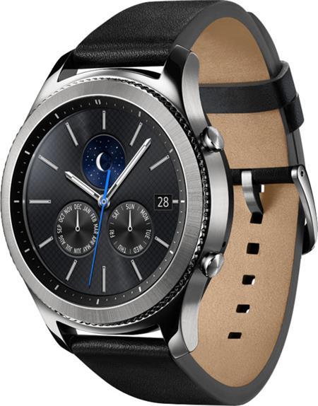 Samsung Gear S3 classic - hodinky, stříbrná; SM-R770NZSAXEZ