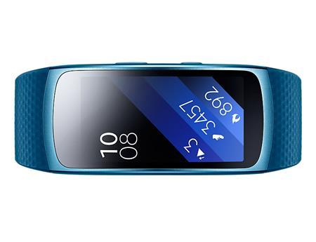 Samsung Gear Fit2 - fitness náramek, modrý; SM-R3600ZBAXEZ