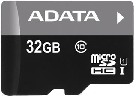 ADATA Micro SDHC Premier 32GB UHS-I; AUSDH32GUICL10 85-R