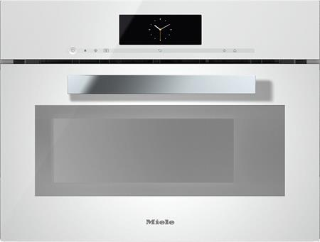 MIELE DGM 6800 bílá - parní trouba s mikrovlnou; 23680014D