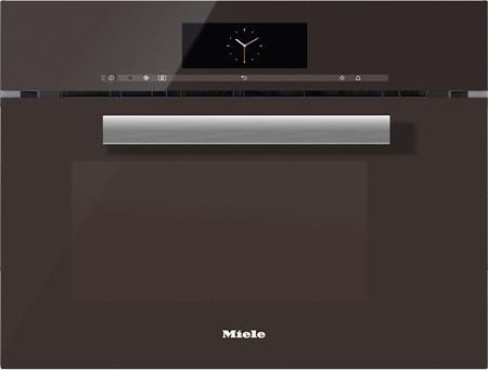 MIELE DGM 6800 hnědá - parní trouba s mikrovlnou; 23680004D
