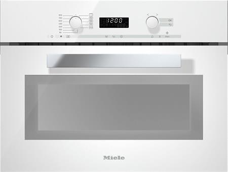 MIELE M 6262 TC bílá - vestavná mikrovlnná trouba; 24626210D