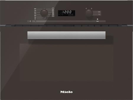 MIELE M 6262 TC hnědá - vestavná mikrovlnná trouba; 24626200D
