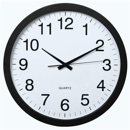 Hama PG-400 Jumbo, nástěnné hodiny, tichý chod; 136292