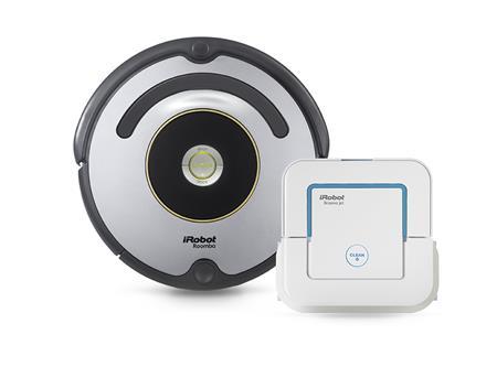 iRobot Roomba 616 + Braava jet 240; R616B240