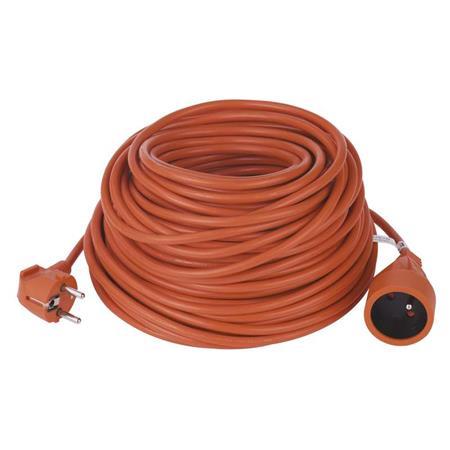 EMOS Prodlužovací kabel oranžový spojka 30m 3x1 *P01630; 1901013012
