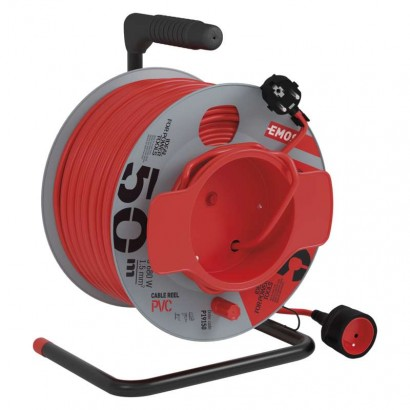 EMOS PVC prodlužovací kabel na bubnu - spojka 50m *P19150; 1908015001