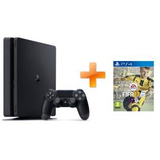Sony PS4 Playstation 4 1TB slim + Fifa 17; PS719851059