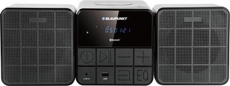 Micro systém BLAUPUNKT MS10BT FM/CD/MP3/USB/Bluetooth; MS10BT