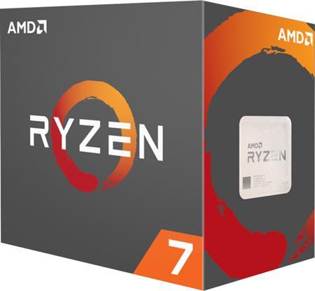 AMD Ryzen 7 1800X (3.6GHz,20MB,95W,AM4) box, bez chladiče; YD180XBCAEWOF