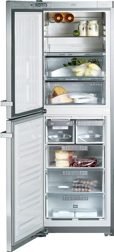 MIELE KFN 14827 SDE ed/cs-2 - kombinovaná chladnička side by side; 38148273EU1
