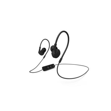 Hama Bluetooth clip-on sluchátka s mikrofonem Active BT, černá; 177094