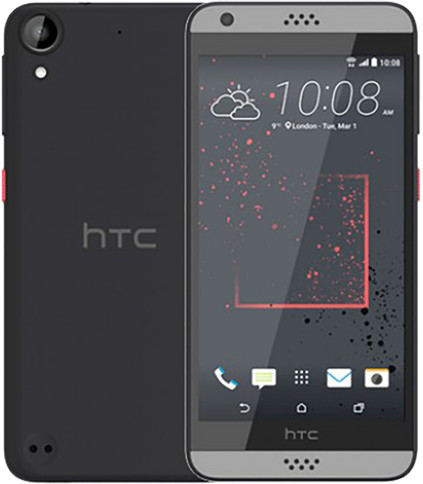 "HTC Desire 630 DualSim - 5"", 1280x720, 2GB RAM, 16GB, android 6, šedý; 99HAJM004-00"