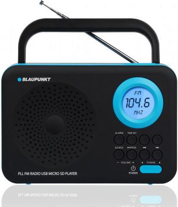 Rádio BLAUPUNKT PP12BK, černé; PP12BK