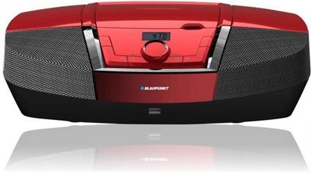 Rádiomagnetofon BLAUPUNKT BB12RD, červený; BB12RD