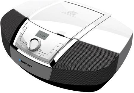 Rádiomagnetofon BLAUPUNKT BB12WH, bílý; BB12WH