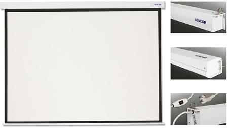 Elektrické projekční plátno Sencor SES T203V + Optoma projektor HD141X; 35036044