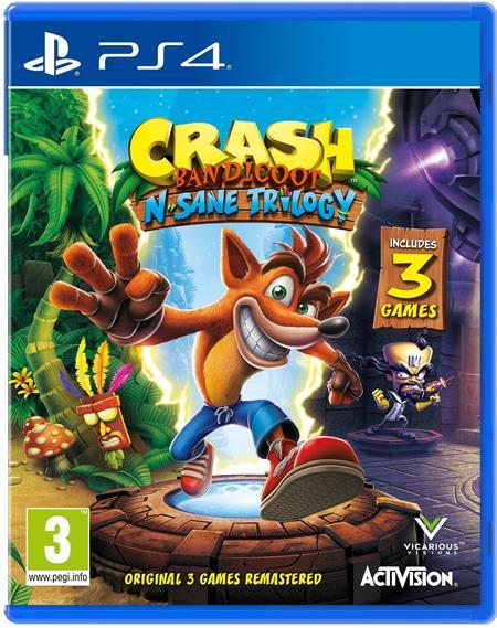 PS4 Crash Bandicoot N.Sane Trilogy; CEP411501