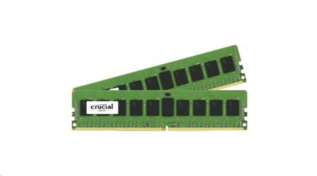 CRUCIAL 2x8Gb, 2133MHz DDR4, CL15, DRx8, SODIMM, 260pin; CT2K8G4SFD8213
