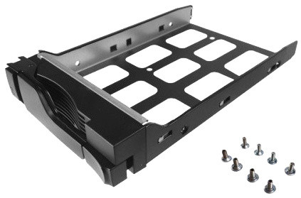 Asustor™ AS-Tray, Black HD tray pro 2.5 & 3.5-inch HDD; AS-Tray