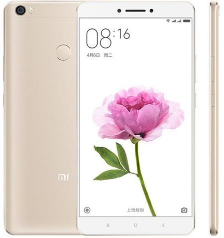Xiaomi Mi Max 32GB, zlatá; MiMAX32GOLD