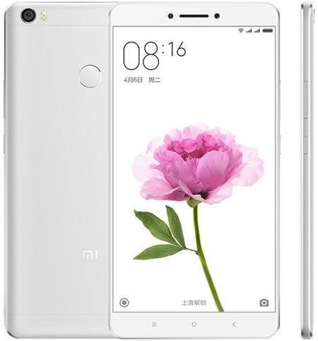 Xiaomi Mi Max 16GB, stříbrná; MiMAX16SiLVER