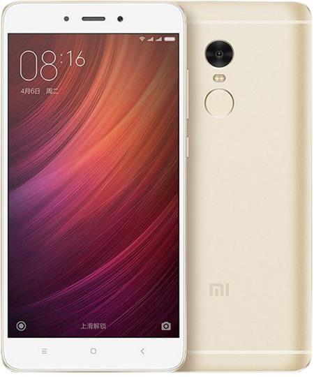 Xiaomi Redmi Note 4 LTE, zlatá; REDMINOTE4_32GOLD