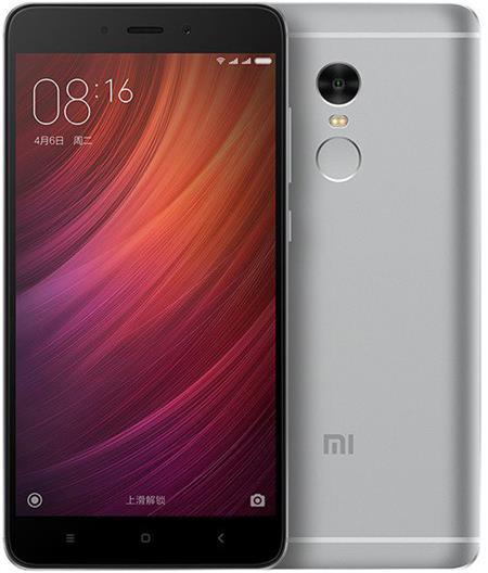 Xiaomi Redmi Note 4 LTE, šedá; PH3081