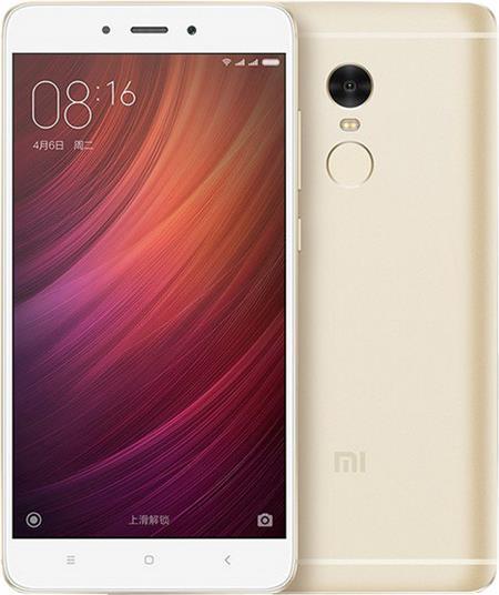 Xiaomi Redmi Note 4. Zlatá; REDMINOTE4_64GOLD