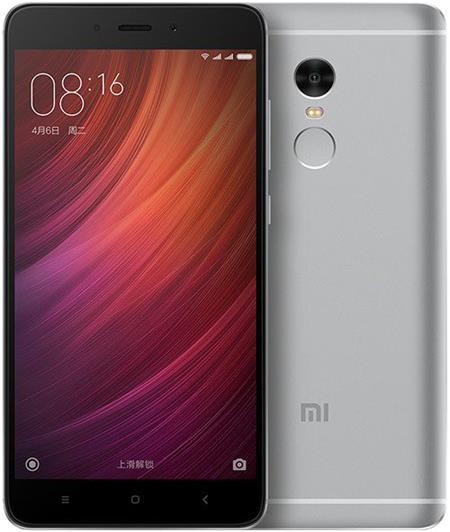 Xiaomi Redmi Note 4, šedá; REDMINOTE4_16GREY