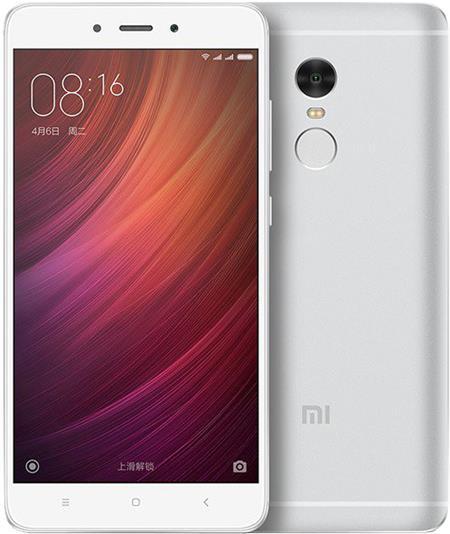 Xiaomi Redmi Note 4, stříbrná; REDMINOTE4_16SILVER