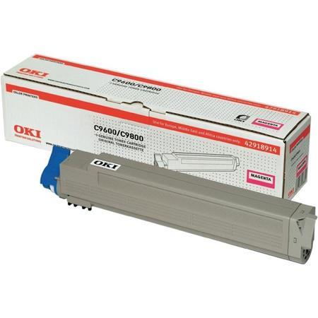 Oki Magenta toner do C9600/ 9800/ MFP (15 000 str) ; 42918914