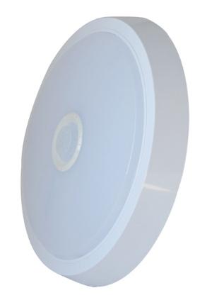 LED stropní svítidlo STNO3 s PIR čidlem; SLS-STN03-15W-DB