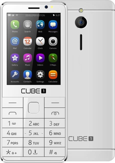 Cube1 F300, bílý; F300 white