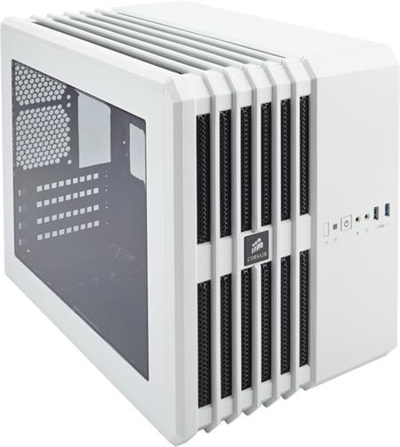 Corsair Carbide Series Air 240 White Edition High Airflow Mini ITX PC Case; CC-9011069-WW