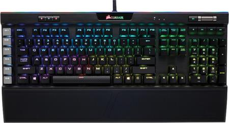 Corsair Gaming™ K95 RGB PLATINUM Mechanical Keyboard, Backlit RGB LED, Cherry MX Speed, Black (US); CH-9127014-NA