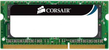 DDR3, 1066MHz 2GB 1x204 SODIMM 1.5V, Unbuffered; CM3X2GSD1066