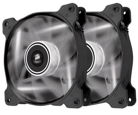 Corsair LED Fan AF120-LED, White, Dual Pack; CO-9050016-WLED