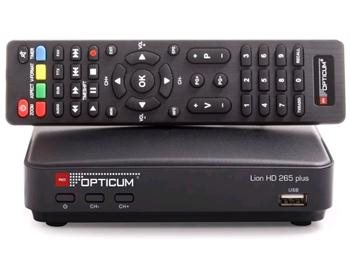 Opticum LION HD 265 PLUS DVB-T2; LION265PLUS