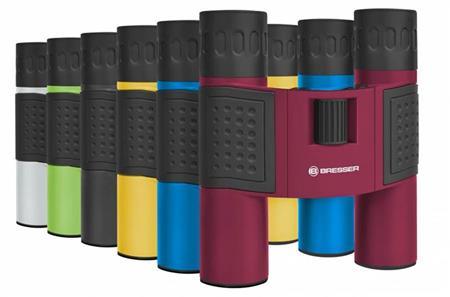 Bresser Topas 10x25 Red Binoculars; 8911027E8G000